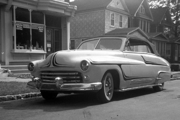 1950 Mercury - Mint Julep - Ken Bausert Ken-ba13