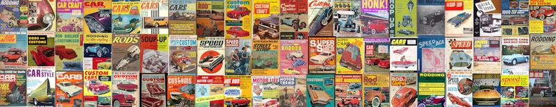 U.S. Hot Rod & Custom Magazine Covers 1945 - 1975 Topban10