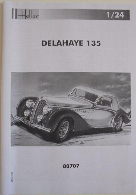 DELAHAYE 135  1/24  Réf 80707... REEDITION 2015 Del_0010