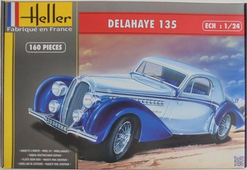 DELAHAYE 135  1/24  Réf 80707... REEDITION 2015 Del_0016