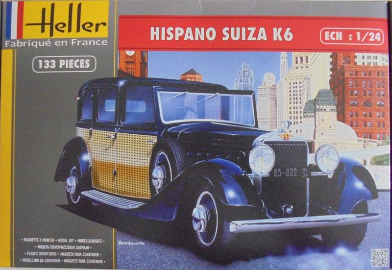 HISPANO SUIZA K6 1/24ème Réf 80704 His_0014