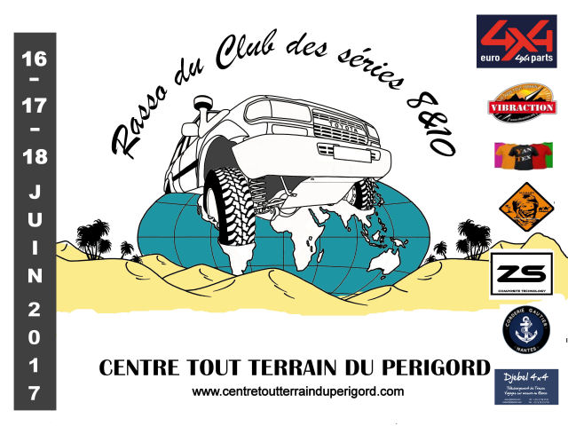 Rassemblement annuel 2017 : du 16 au 18 juin dans le Périgord Plaque11