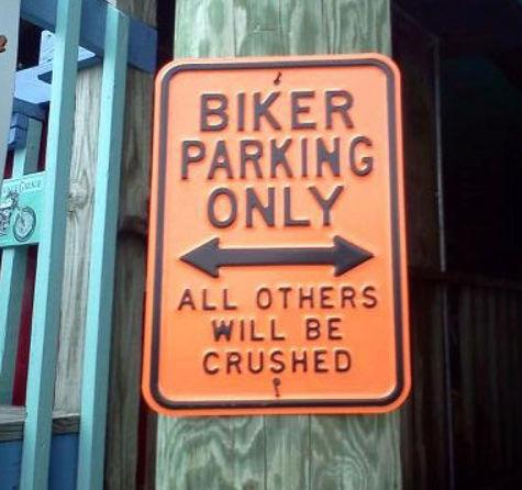 qu'acceptez-vous comme moto sur votre parking ? - Page 2 Sign112