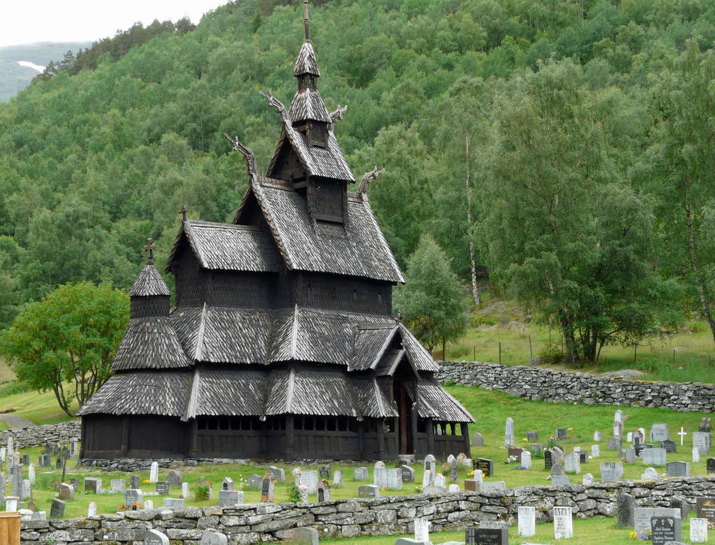 """Norvège : Les """"stavkirke"""", églises en """"bois debout"""", et secondairement bien d'autres aspects de ce magnifique pays et de sa culture... P1040810"""