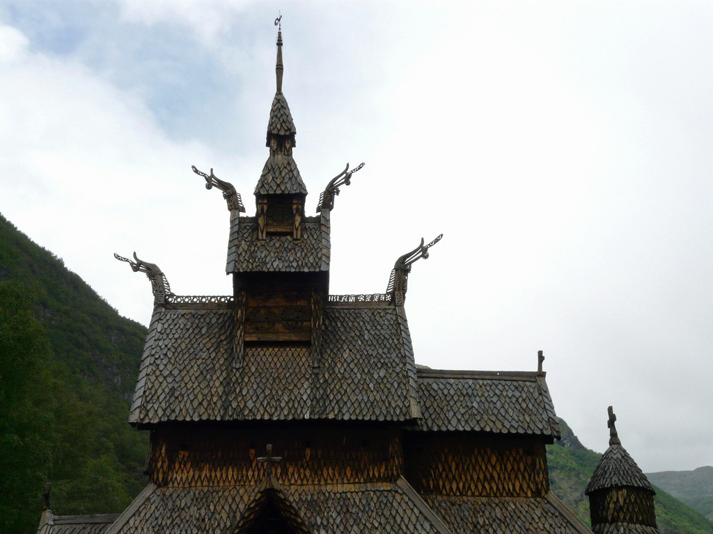 """Norvège : Les """"stavkirke"""", églises en """"bois debout"""", et secondairement bien d'autres aspects de ce magnifique pays et de sa culture... P1040910"""