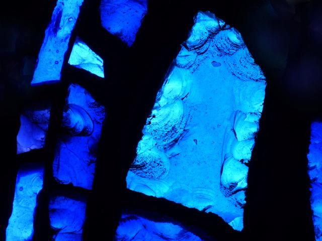 """Une recherche sur le magnifique """"bleu de Chartres"""". P1050033"""