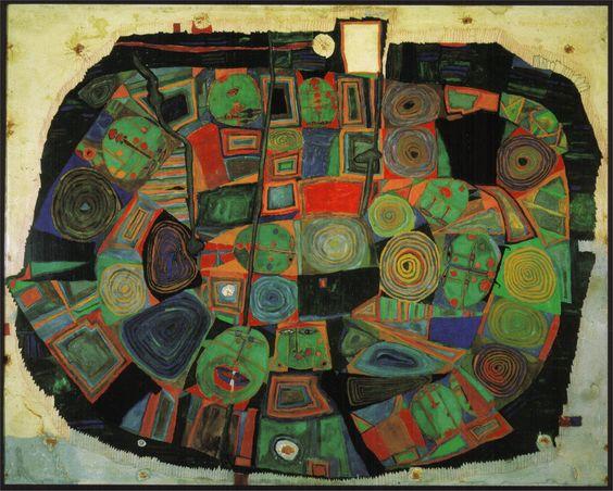 Friedrich Stowasser  dit Friedensreich Hundertwasser 72e3b710