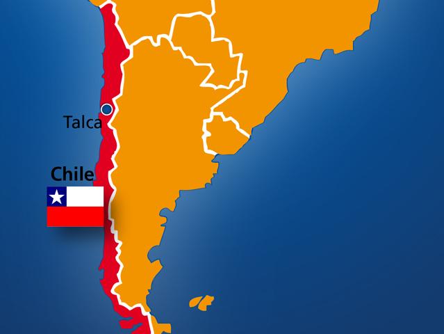Chamaco fait l'Amérique du Sud et Centrale Chile-11