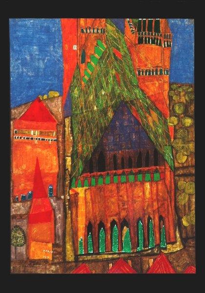 Friedrich Stowasser  dit Friedensreich Hundertwasser Hunder11