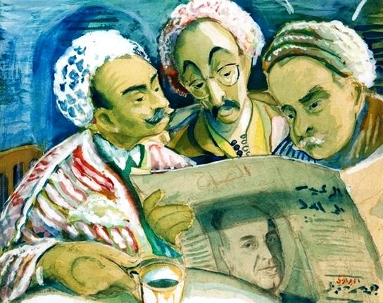 Le groupe et l'Ecole de Tunis   Zoubei11