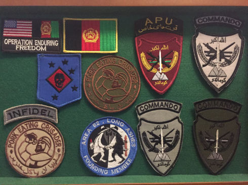 Small Afghan-Made Patch Collection Img_1410