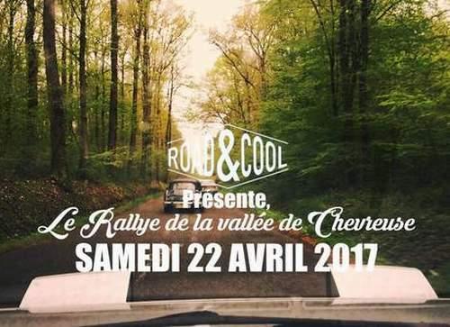 Rallye de la Vallée de Chevreuse 2017 Affich11