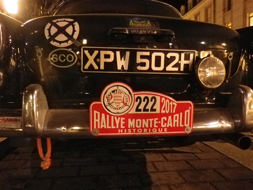 Le Rallye Monte Carlo et .... le Rallye Monte Carlo Historique 2017 Rmch1715