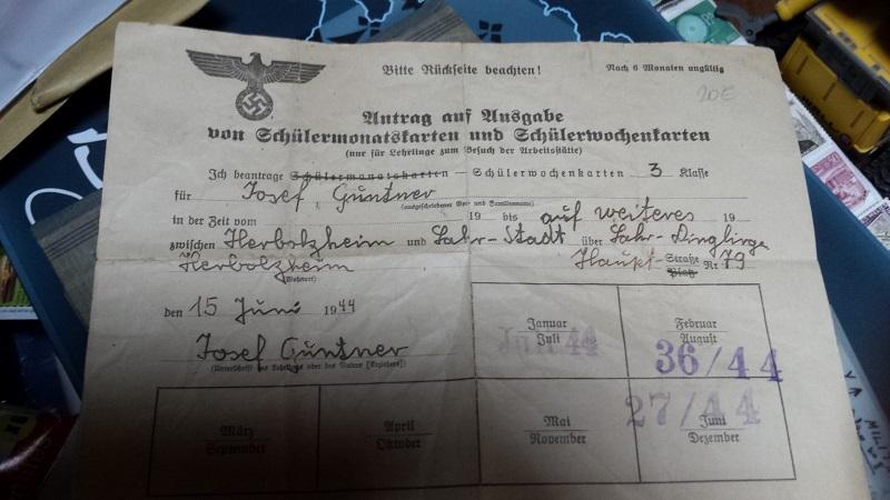 Papiers allemands à traduire et identification calques 20161211