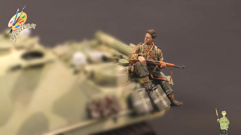 Jagdpanther Sd.Kfz.173 – 1/35ème Dragon - Equipage terminé - Page 6 14_tro15