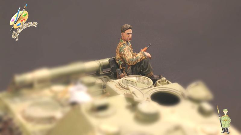 Jagdpanther Sd.Kfz.173 – 1/35ème Dragon - Equipage terminé - Page 6 14_tro20