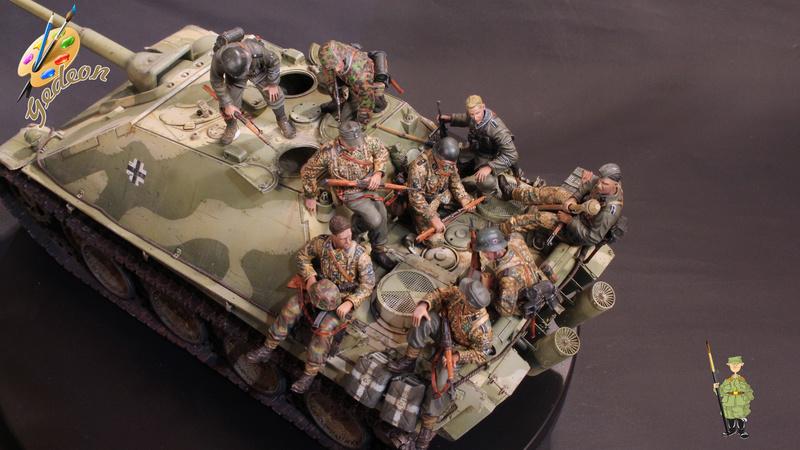 Jagdpanther Sd.Kfz.173 – 1/35ème Dragon - Equipage terminé - Page 9 Du_mon10