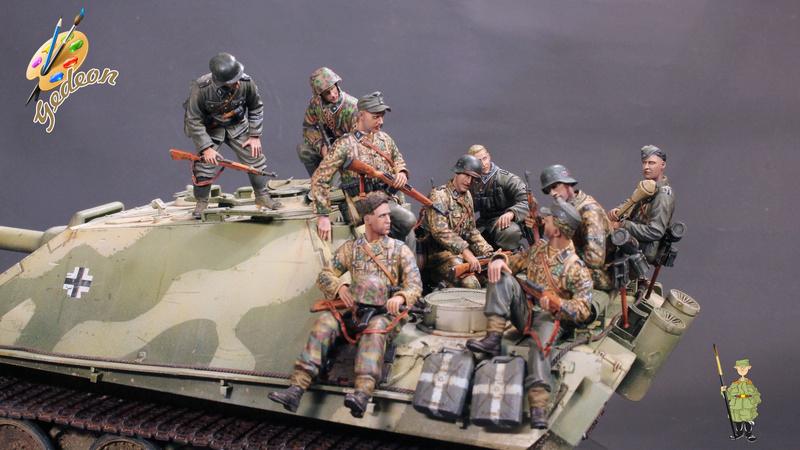 Jagdpanther Sd.Kfz.173 – 1/35ème Dragon - Equipage terminé - Page 10 Du_mon11