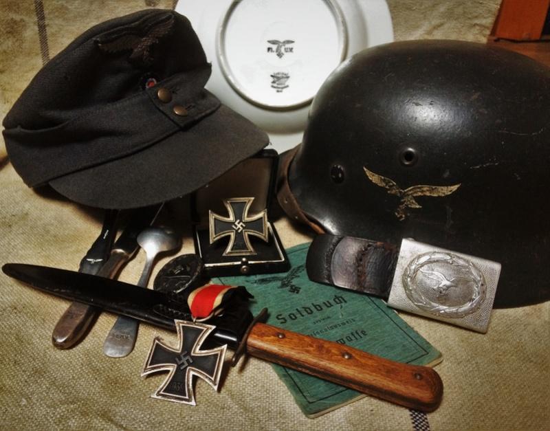Natures Mortes : SS / Heer / Luft / HJ / WW2 / WW1 (Français-Allemand) Img_0310