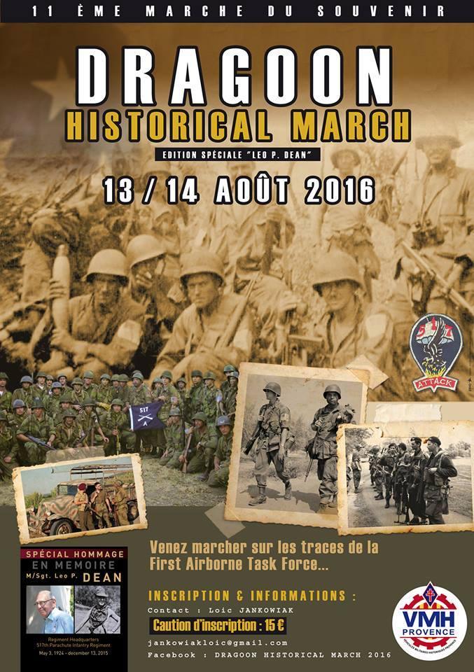 DRAGOON HISTORICAL MARCH, 13-14 août 2016 13895410