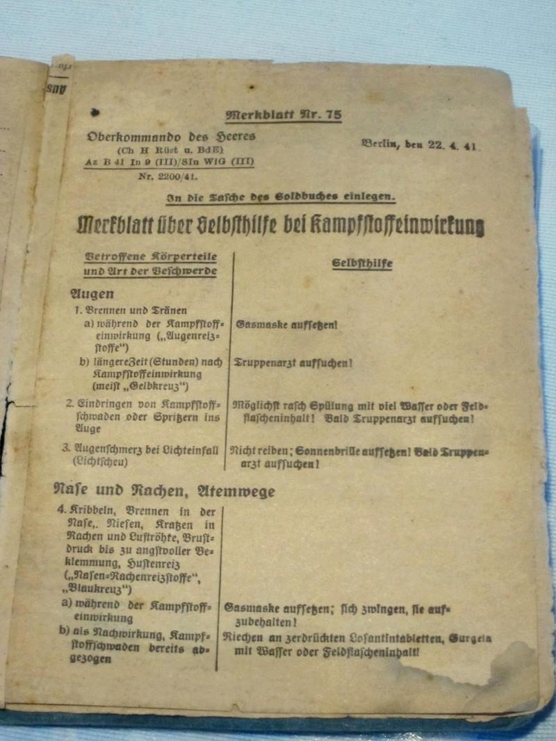 Soldbuch Luftwaffe 2510