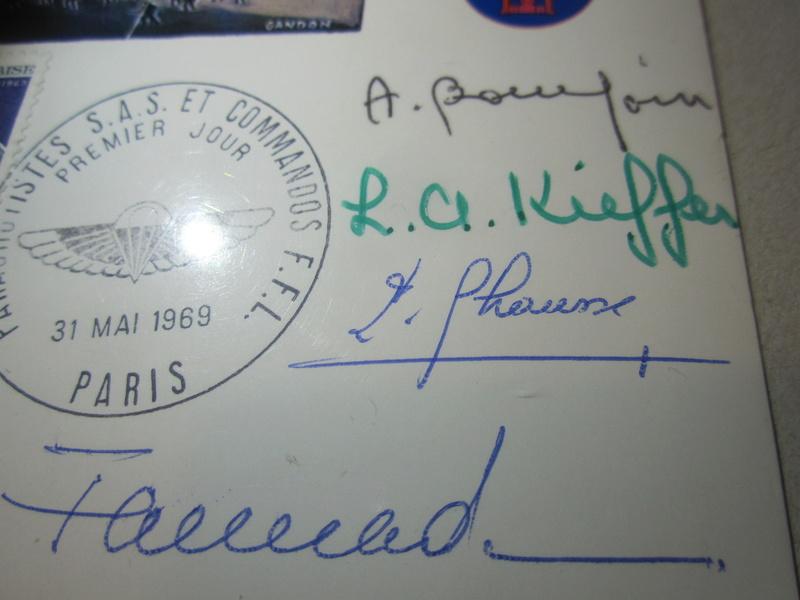 Autographe Commando kieffer Img_4212