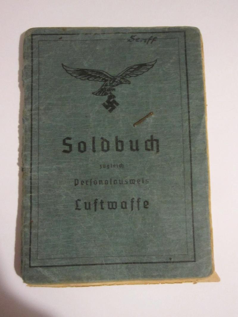 Soldbuch Luftwaffe Soldbu10