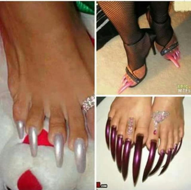 Talon foot pedicure  Img_5638