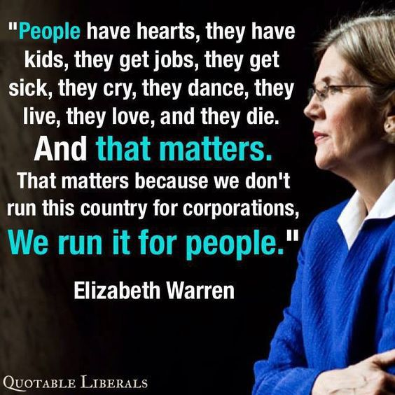 Elizabeth Warren: emerging voice of America's opposition Img_6026