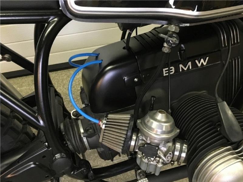 Projet Scrambler d'une R80RT Moteur10