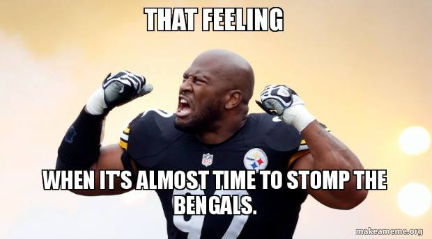 Steelers vs Bengals (game day thread) Deebo_10