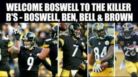 Boswell selected for 'random' drug test after six field goal game Welcom10