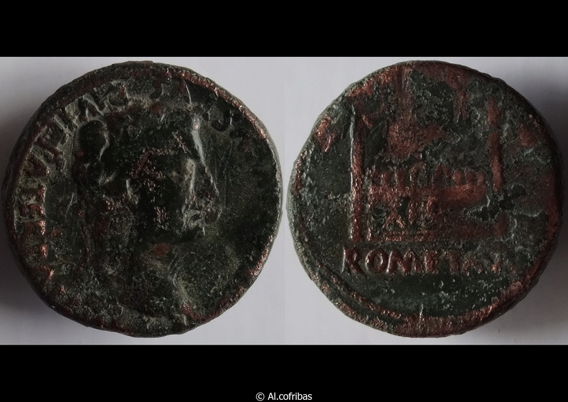 ID As Auguste - Lyon (9 - 14 AD) RIC. 233 As_ric10