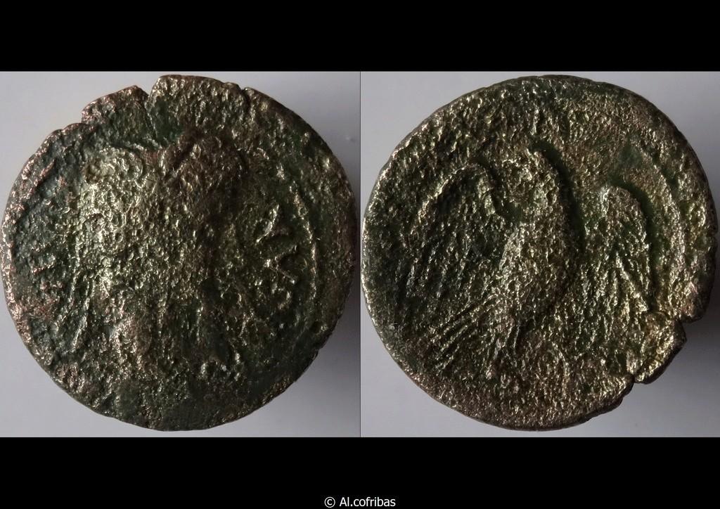 ID Quadrans Auguste - Lyon RIC. 227 Octave10