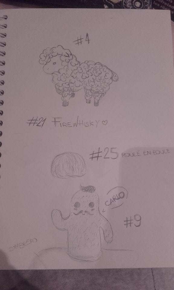 Challenge impossible : Les trente dessins. - Page 2 Challe10