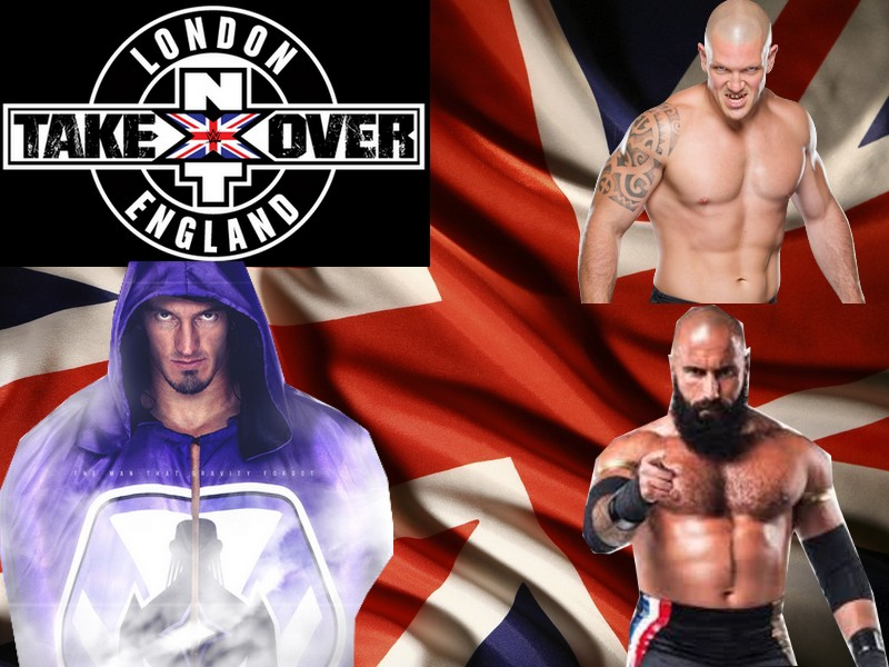 NXT TakeOver: London (SSE Arena, Wembley) Nevill10