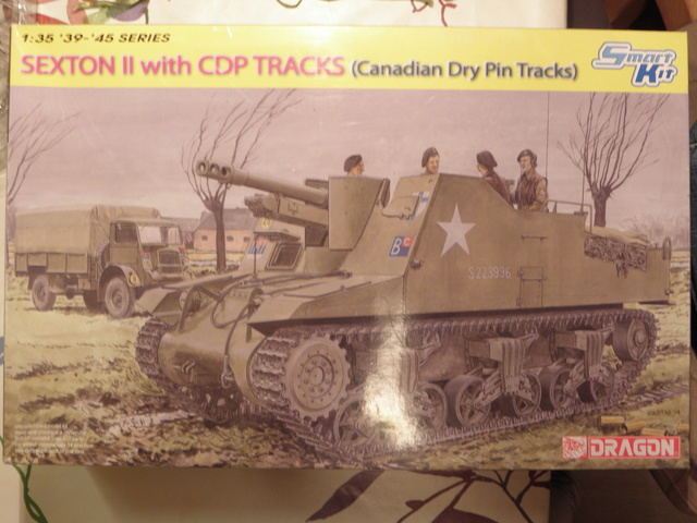SEXTON II with CDP TRACKS (Canadian Dry Pin Tracks)  1/35 Dragon  Pc250911