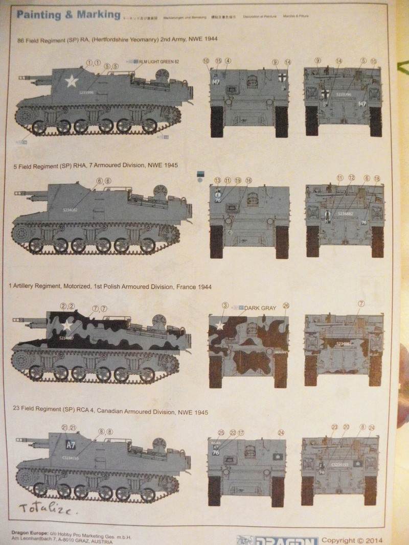 SEXTON II with CDP TRACKS (Canadian Dry Pin Tracks)  1/35 Dragon  Pc260922