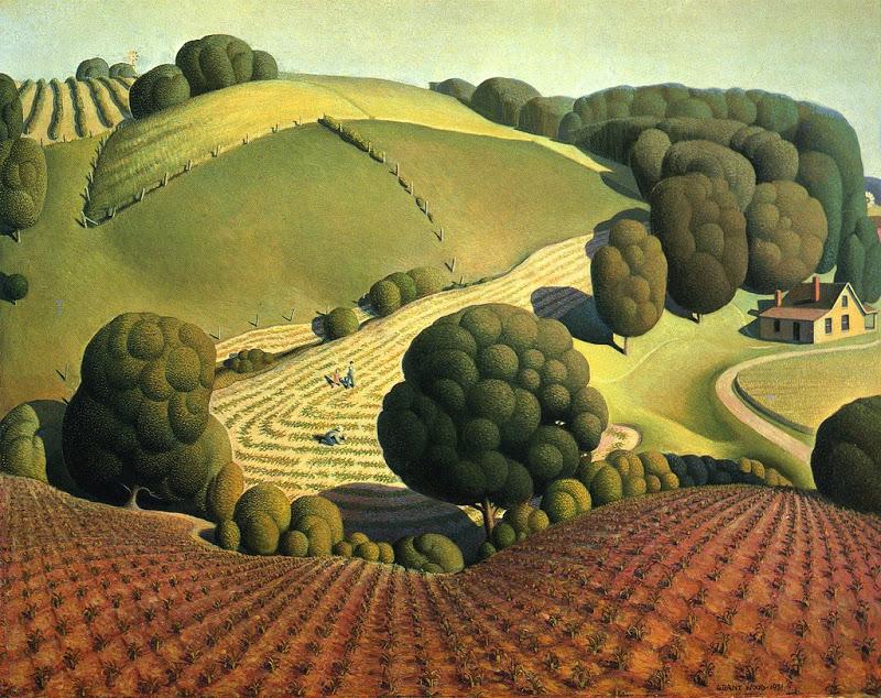 La Peinture américaine des années 1930 (musée de l'Orangerie) Grantw10