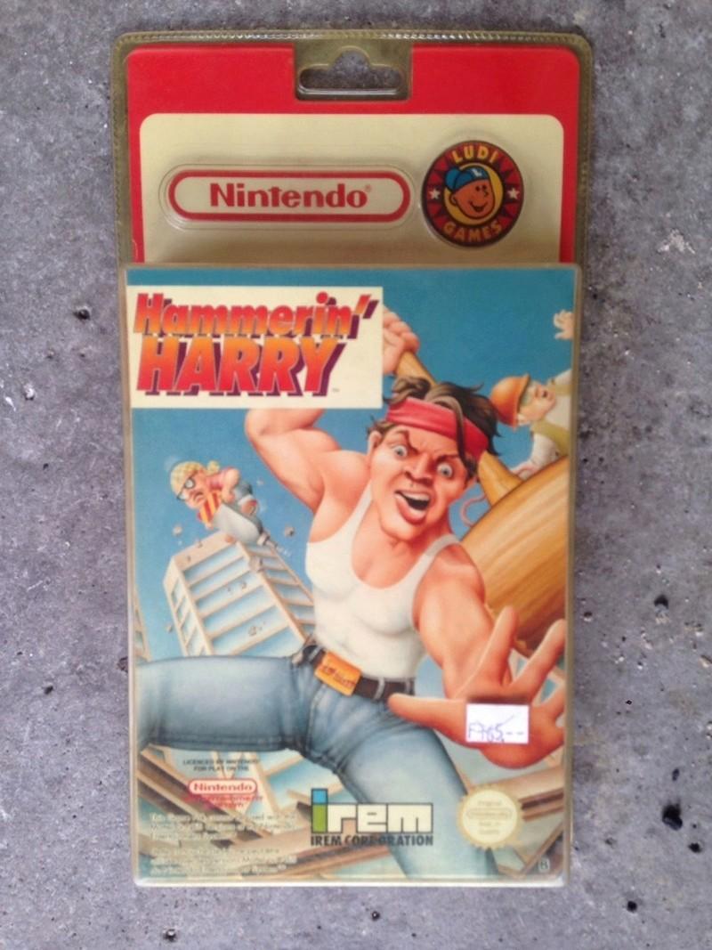 Hammerin Harry Sous blister rigide Nintendo Hammer10
