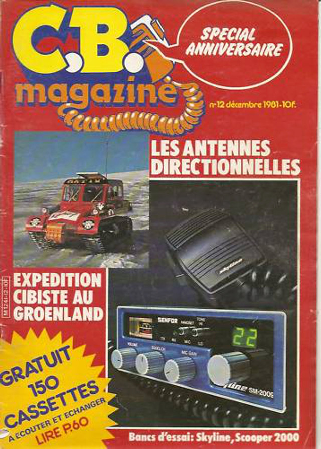 C.B. Magazine - Radio C.B. Magazine (Magazine (Fr.) Cbm_1210