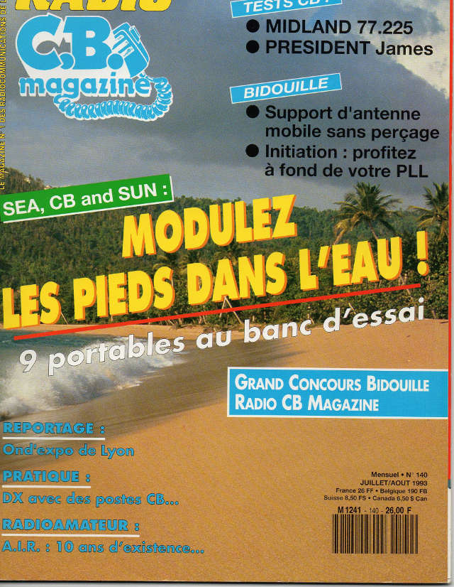 C.B. Magazine - Radio C.B. Magazine (Magazine (Fr.) - Page 3 Rcbm_136