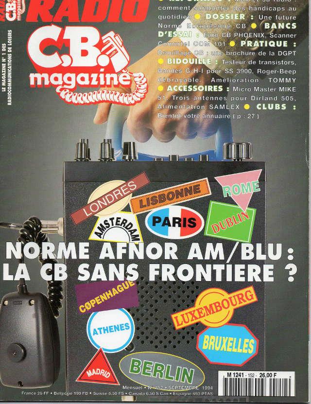 C.B. Magazine - Radio C.B. Magazine (Magazine (Fr.) - Page 4 Rcbm_148
