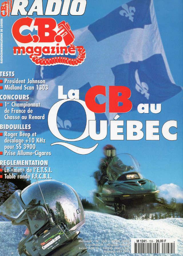 C.B. Magazine - Radio C.B. Magazine (Magazine (Fr.) - Page 4 Rcbm_155