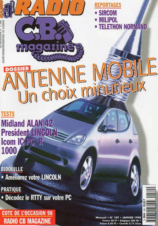 C.B. Magazine - Radio C.B. Magazine (Magazine (Fr.) - Page 5 Rcbm_181