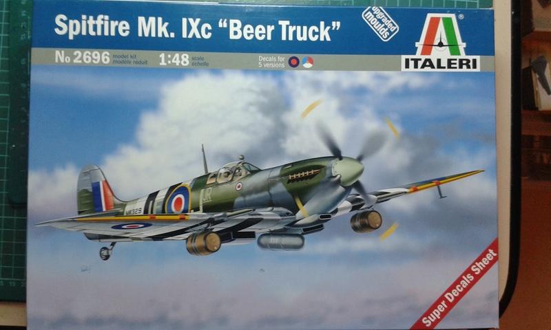 Tournée Générale ! Spitfire Mk. IXc (Italeri - 1/48) 20170226