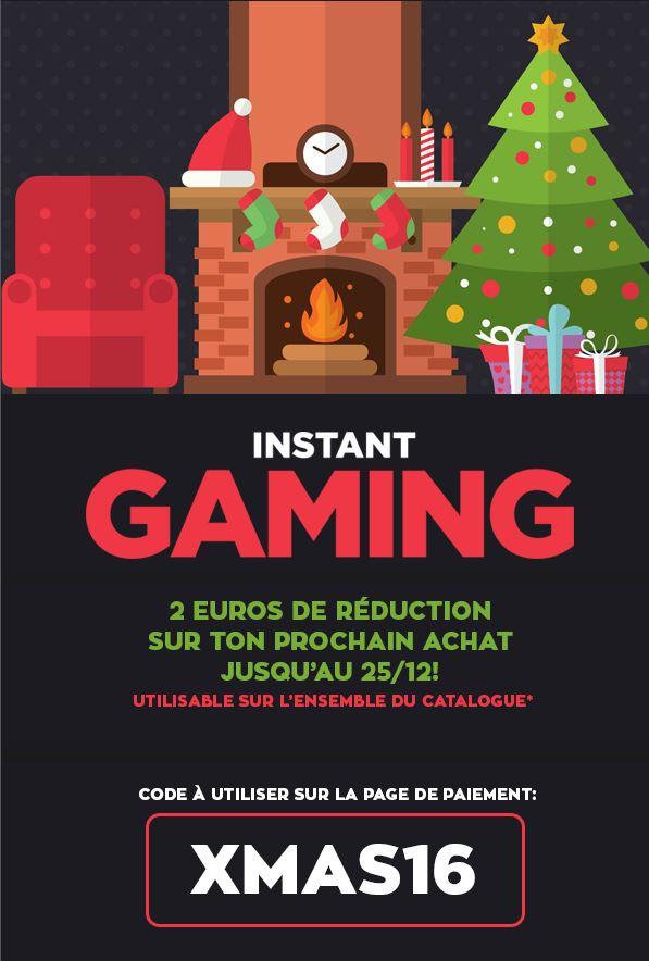 code Promo Instant Gaming valable jusqu'au 25/12/16 Promo_10