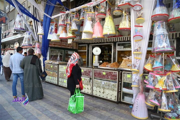 ننشر اسعار حلاوة المولد فى الأسواق بمختلف الانواع - سعر عروسة المولد 87410