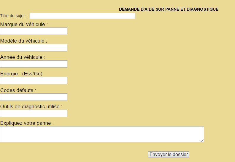 Nouveau formulaire pour la demande d'aide a la panne Aide_s11