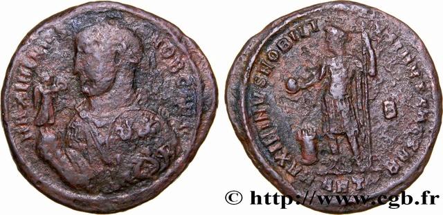 "Identification ""moyen bronze"" de Maximin II Daia Brm_3510"